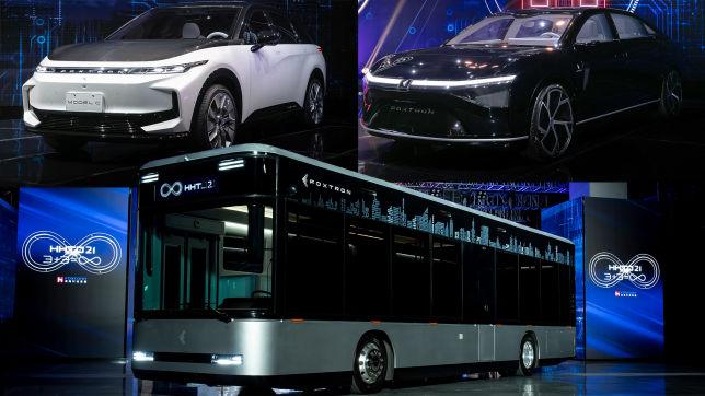 Foxtron E-Autos (2023)