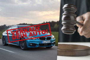 Strafe f�r Fluchtfahrt mit BMW 4er