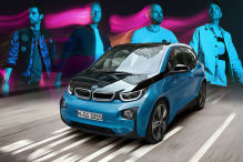 Coldplay BMW i3 Montage