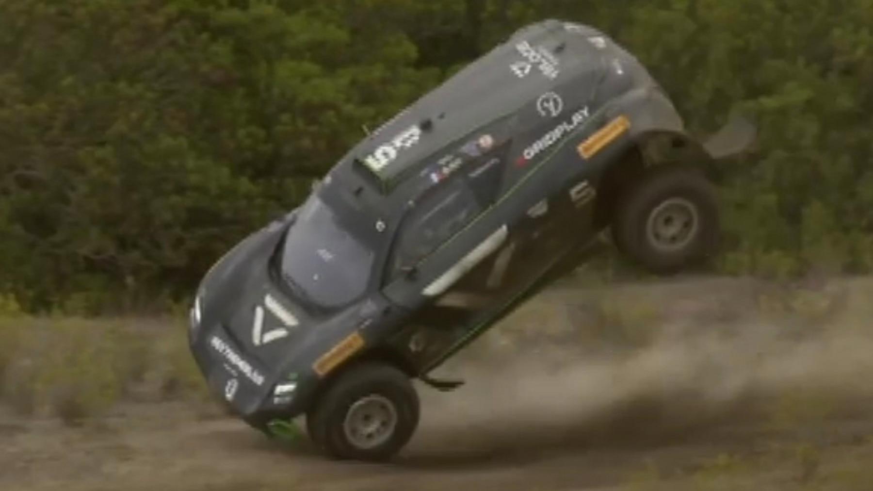 Extreme E: Überschlag, Rosberg siegt, Abt-Cupra auf dem Podium