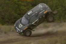 Extremer �berschlag, Rosberg siegt, Abt-Cupra auf dem Podium