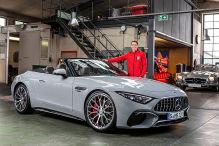 So kommt der neue Mercedes-AMG SL