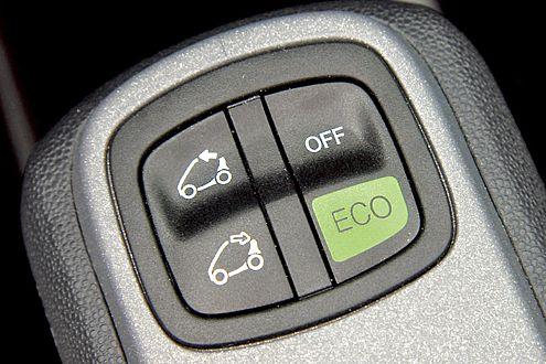 Die Normalfahrt ist jederzeit per Knopfdruck wieder möglich.