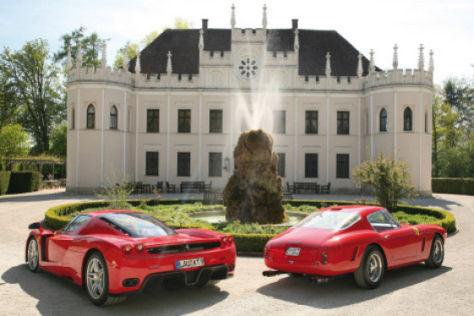 Ferrari 250 GT SWB gegen Ferrari Enzo - autobild.de