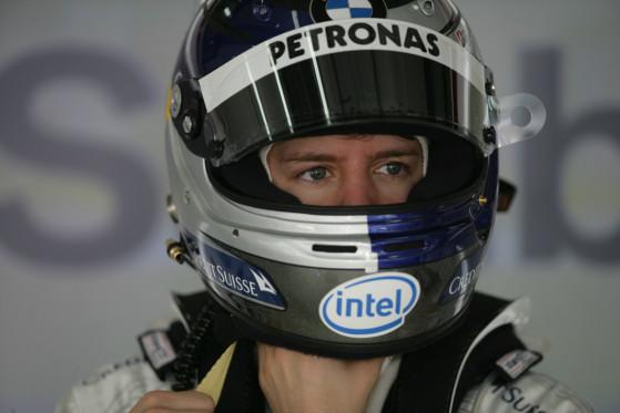 Sebastian Vettel absolvierte in Budapest sein erstes Rennen für Toro Rosso.