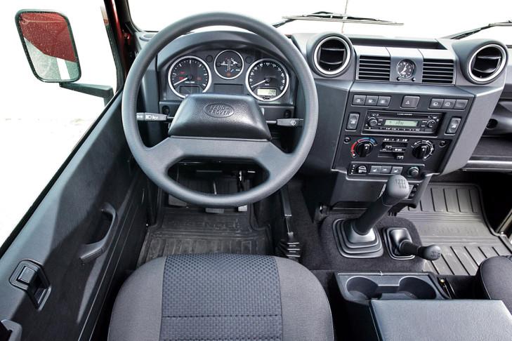 Test Jeep Wrangler und Land Rover Defender - Bilder ...