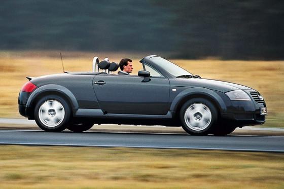 So schön kann Golf-Fahren sein: Der TT war Audis Design-Meisterstück.