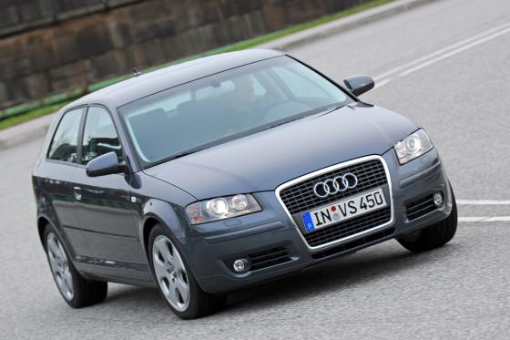 Ingolstädter Sprinter: Der Audi ist in glatten zehn Sekunden auf Tempo 100.