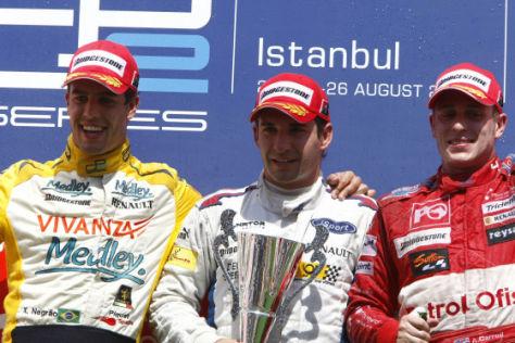 GP2 Türkei 2007 Podium Sonntagsrennen