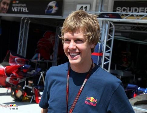 Sebastian Vettel vor seinem ersten Start als Stammfahrer in der Königsklasse.