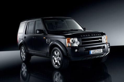 Land Rover Modellpalette