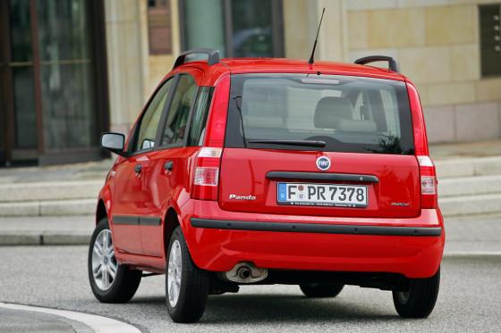 Temperamentvoll: Der Fiat Panda hat die Konkurrenz bei den Fahrleistungen im Griff.