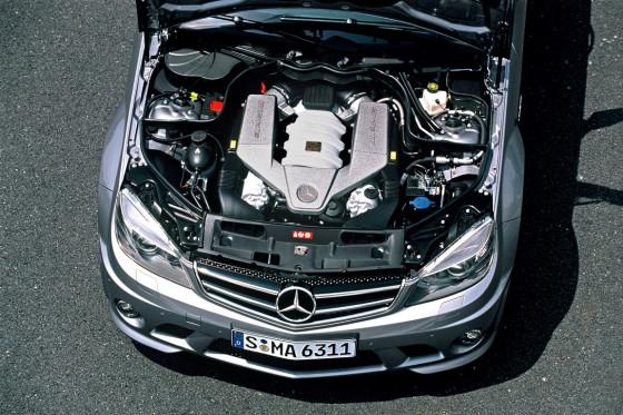 Dickes Ding: Der V8 holt seine 457 PS aus 6,2 Litern Hubraum.
