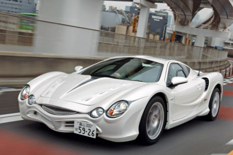 Fahrbericht Mitsuoka Orochi X F D D F B E on 2007 Bentley Continental Gt