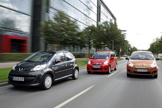 Immerhin: Bei Daihatsu und Peugeot ist ESP gegen Extrazahlung lieferbar.