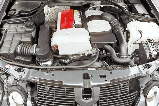 Kräftige Basis: Der Zweiliter-Kompressor gefällt mit seiner Durchzugskraft.