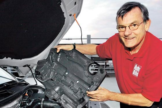 AUTO BILD-Redakteur Diether Rodatz attestiert dem VW-Diesel Laufruhe.