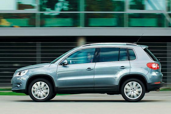 Allrounder Tiguan: Das 4,43 Meter lange Kompakt-SUV ist gleichzeitig auch ein kleiner Van.