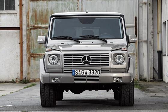 Trotz serienmäßiger Xenon-Scheinwerfer fehlt beim G-Modell von Mercedes die Reichweite.