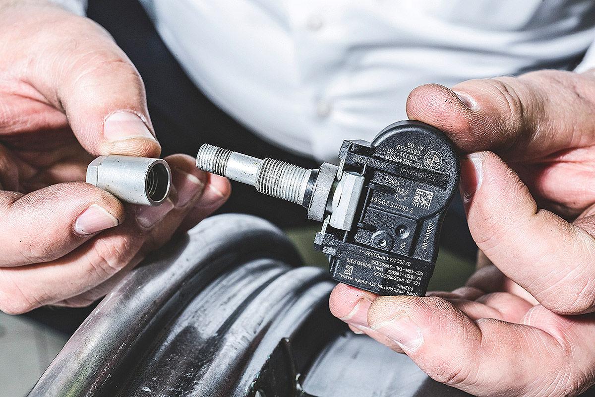 Einbau-Anleitung Reifendrucksensoren