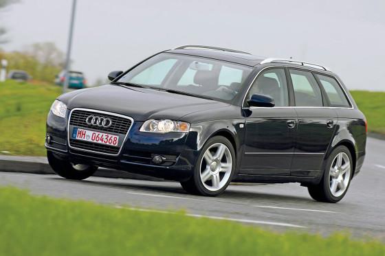 Audi A4 Gebrauchtwagen Test Autobildde
