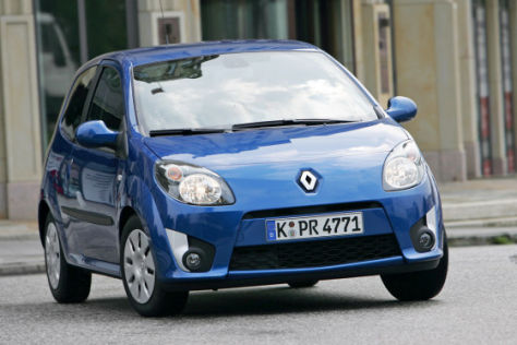 Renault Twingo und Scénic