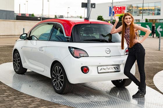 Opel Adam Sondermodell für GNTM