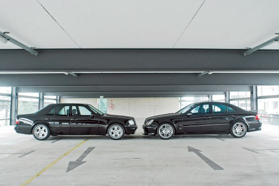 Brabus E 6.5 V8 trifft E V12 S