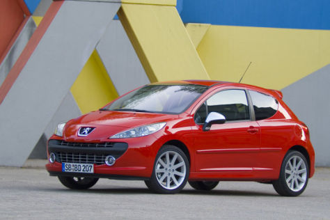 Telematiksystem für Peugeot 207