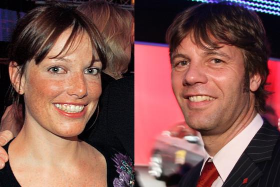 AUTO BILD-Redakteure Margret Hucko und Joachim Staat.