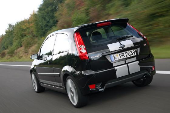 Komfortfreier Kurvenfresser: Der Fiesta fordert den leidensfähigen Kleinwagenfan.