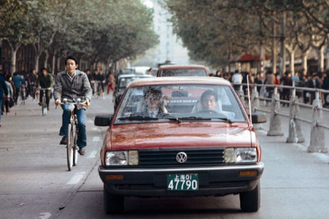 VW Santana in Cina