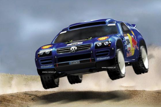 VW Race Touareg 2 Rallye Dakar 2007