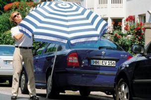 Braucht mein Auto Sonnenschutz?