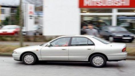 mitsubishi galant e50 - autobild.de