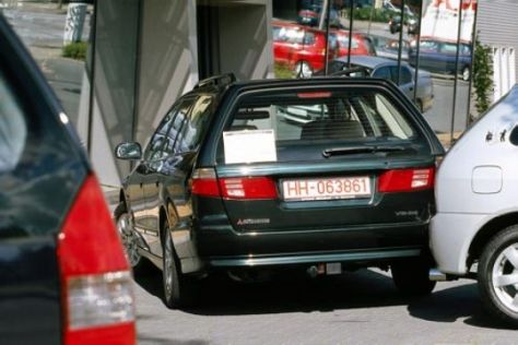 gebrauchtwagen-test: mitsubishi galant (1997-2003) - autobild.de