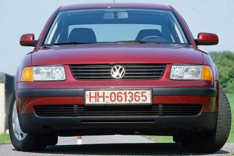 gebrauchtwagen test vw passat 1996 2005. Black Bedroom Furniture Sets. Home Design Ideas