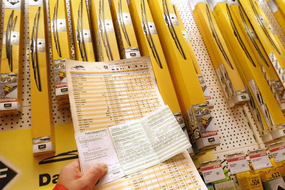 Augen auf beim Wischerkauf: Lieber ein paar Euro mehr für Markenprodukte ausgeben.