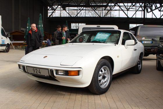 Die Legende: der Mercedes-Flügeltürer, zu sehen auf der SL-Sonderschau auf der Techno Classica in Essen.