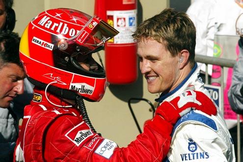 Zufriedene Schumis: Sieger Michael und Ralf (2.) nach vollbrachtem Duell - zum echten Angriff kam es nicht.