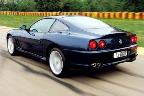 Ferrari 575m Maranello F1 Autobild De