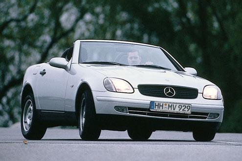 Der Mercedes-Benz SLK hat den geringsten Wertverlust aller Fahrzeuge nach zwei bis drei Jahren.