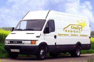 Transporter mit Erdgas-Motor