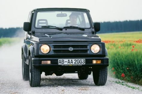 gebrauchtwagen test suzuki samurai. Black Bedroom Furniture Sets. Home Design Ideas
