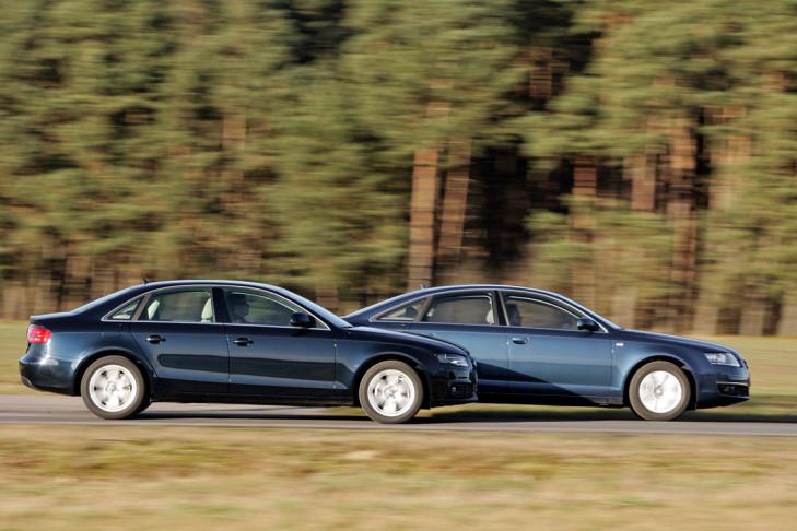 Audi A6 und A4