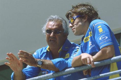 Flavio Briatore und Fernando Alonso