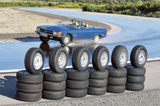 Reifen für Oldtimer