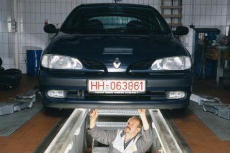 gebrauchtwagen-test: renault megane (1996-2002) - autobild.de