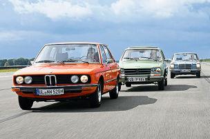 Lässige Limousinen der 70er