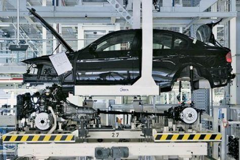 BMW Werk Produktion